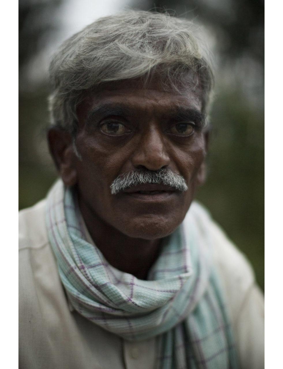 S.B Hanumantha Gowda (50), a sugarcane farmer from the village of Karadakere. He has no debts.